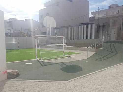 Construcción de Espacio Deportivo
